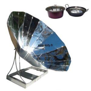 Four solaire SUNplicity et son lot de 2 récipients