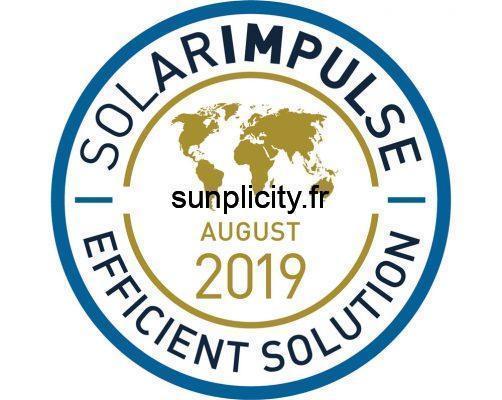 Le logo Solar Impulse Efficient Solution Aout 2019
