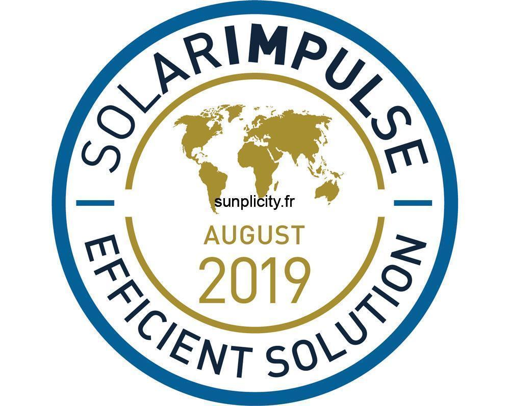 Le logo Solar Impulse Efficient Solution Aout 2019