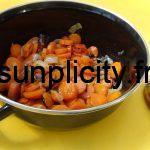 Carottes, oignons et herbes aromatiques