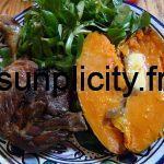 Confit de canard et patate douce